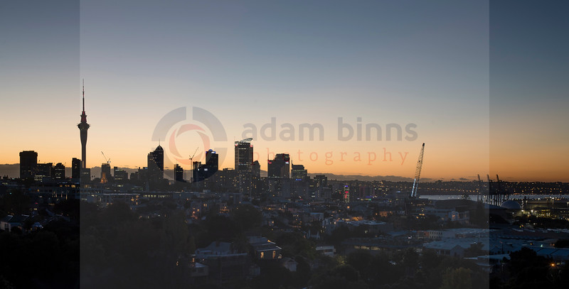 Auckland City from Parnell. Saturday 13 May 2017. © Copyright, Adam Binns Photography, Dunedin, New Zealand 2017
