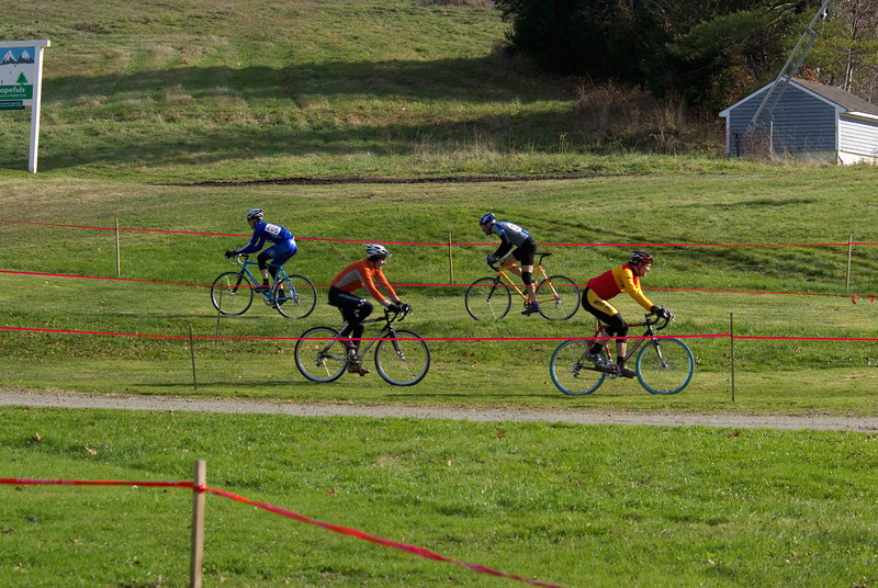 Vermont Mountain Psycho Cross (cyclo-cross) bike race, organized and sponsored by Penguin Racing Cycling Club
