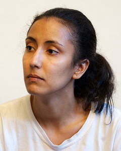 070912, Boston, MA - Melissa Mejia, 28, of Hyde Park during her arraignment on drug charges in Boston Municipal Court on Monday. Herald photo by Ryan Hutton