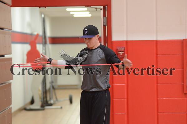 02-10 Ethan Westphal pitching