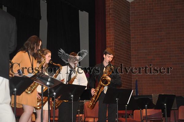 03-07 CCHS spring band concert