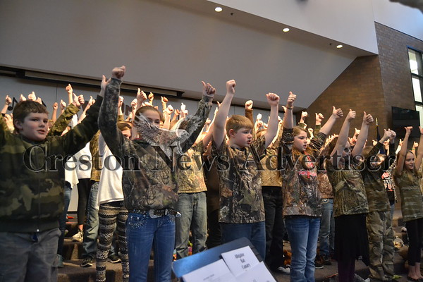 """03-10 """"Awesome Animals"""" fourth-grade concert"""