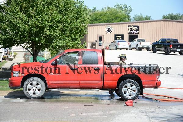 07-13 Truck fire