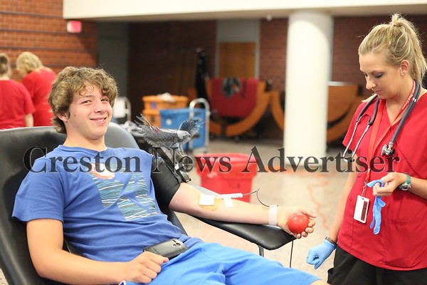 07-14 Blood drive at CHS