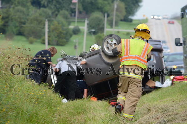 08-31 Rollover accident