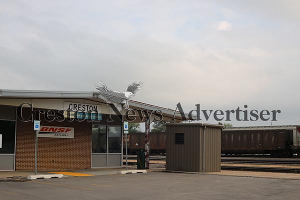 09-08 Creston depot-Amtrak