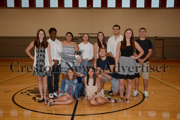 09-13 Creston homecoming court