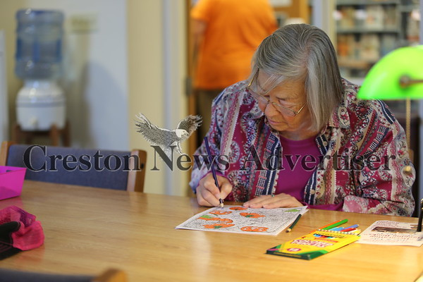 10-12 Adult coloring at Gibson Memorial Library