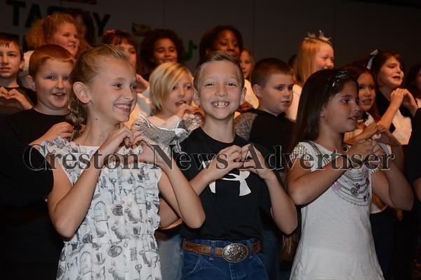 11-16 Creston third grade vocal concert