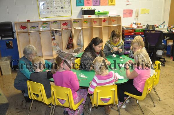 12-1 St. Malachy School Advent activities