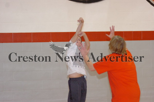 03-12 Creston MS students vs. teachers BB