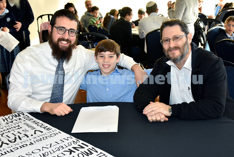 Generation Sinai learning at Kesser Torah College. Pic Noel Kessel