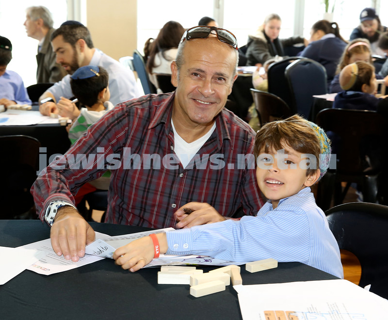 Generation Sinai learning at Kesser Torah College. Aviv & Pele Damari.