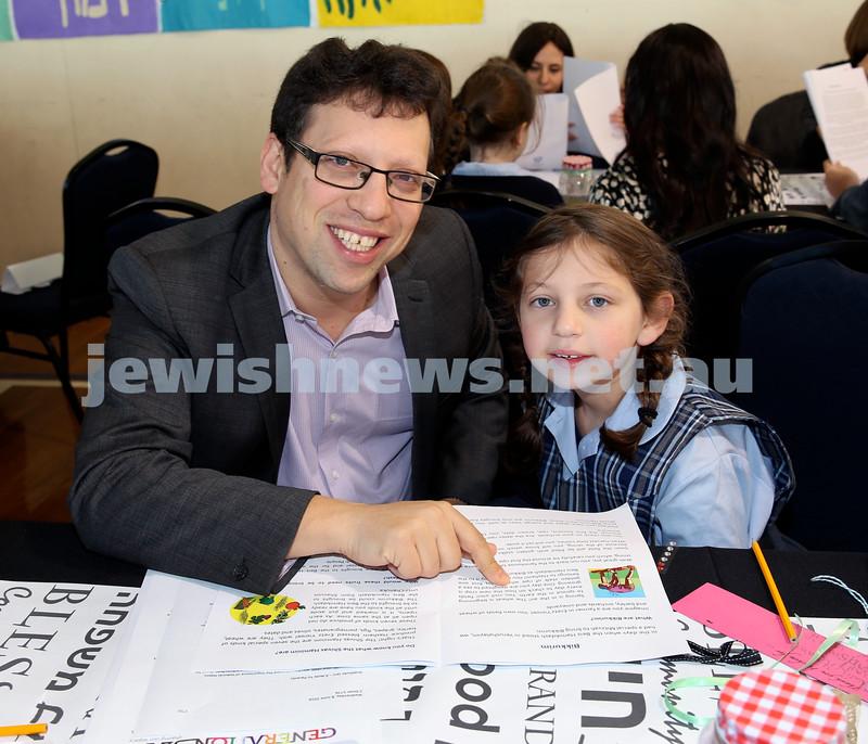 Generation Sinai at Kesser Torah College. Pic Noel Kessel.