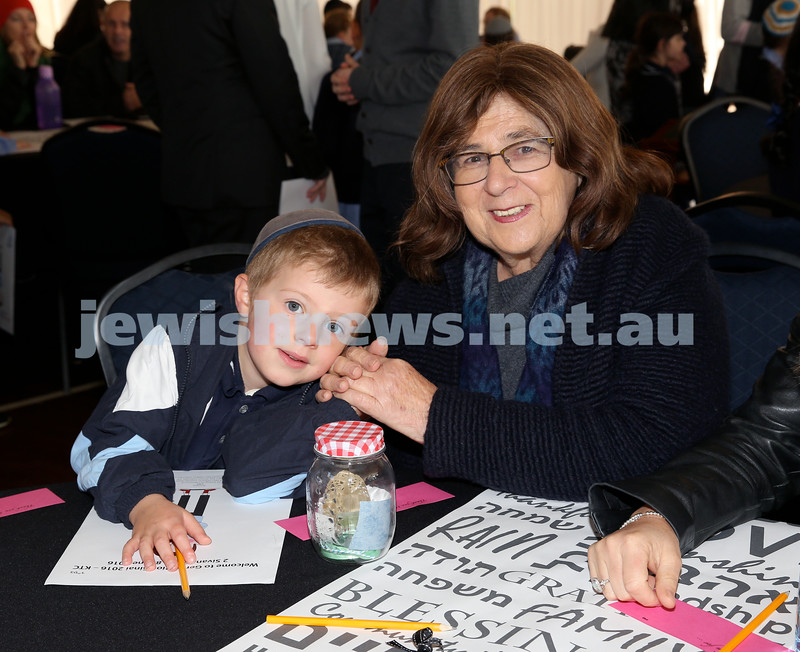 Generation Sinai held at Kesser Torah College. Pic Noel Kessel.