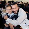 Generation Sinai held at Kesser Torah College. Chaim Greenwald with his daughter Chaya. Pic Noel Kessel.