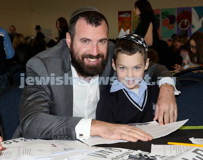 Generation Sinai held at Kesser Torah College. Yona & Tzvi Bloom. Pic Noel Kessel