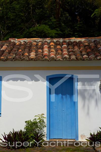 Blue door,Buzios,Brazil