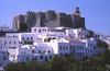 Patmos castle,Patmos,Greece
