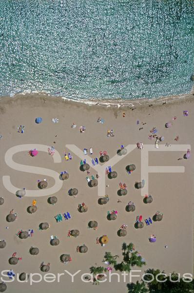 Aerial beach,Mallorca