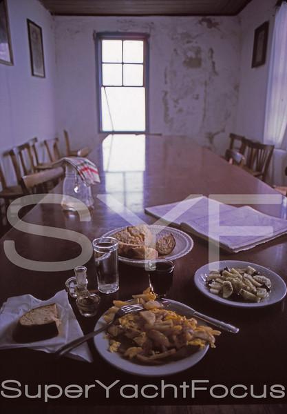 Evening meal, Mt.Athos