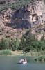 Rock tombs,Dalyan river,Turkey