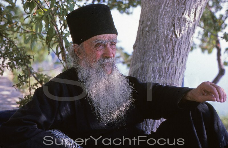 91 year old monk,Mount Athos,Greece