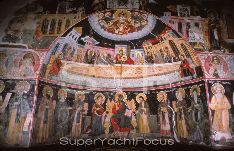 Frescoes,Mt.Athos,Greece