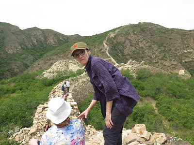 Generl Xu Great wall hiking camping