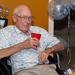Photos from Gene's 90th birthday party at Ron and Christie's.