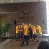 U of R YellowJackets perform at the Spread the Word event