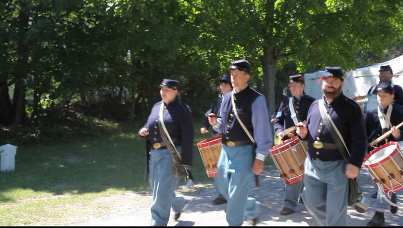 Civil War Re-Enactment at Genesee Country Villages Museum, July 18, 2010.