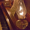 Lamp for piano, HDR