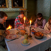 House, Christmas prayer of Thanks, HDR