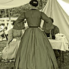 Civil War Re-Enactment at Genesee Country Villages Museum, July 18, 2010.  Warm look of old AZO.  A contact speed paper most likely used by old photographers.