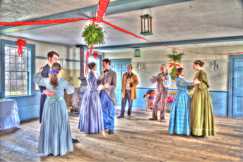 Dancing inside the Town Hall, HDR