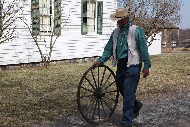 A wagon wheel is needed........ 2009