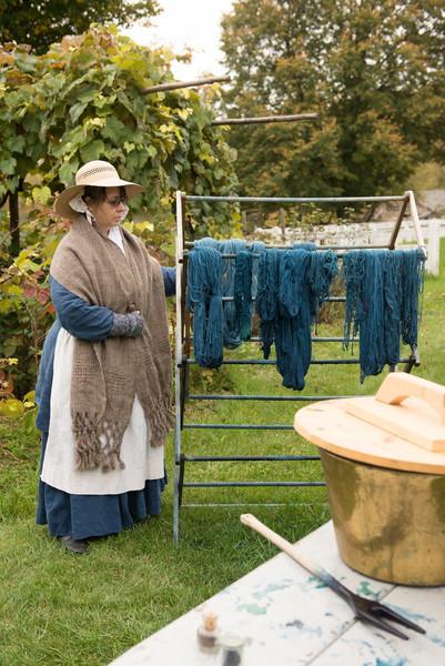 Dyeing Wool