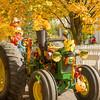 Tractor Clown at Ag Fair