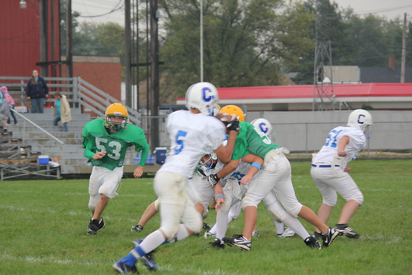 8th grade Grn vs Churchill & Wht vs Lombard 9-11-10