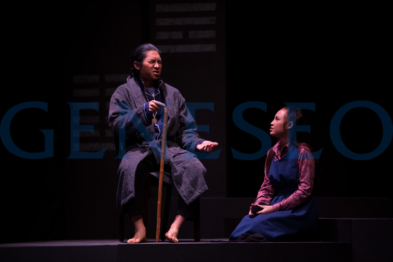 Fall 2017 Carry the Tiger to the Mountain (GENseng) Photos by Ben Gajewski