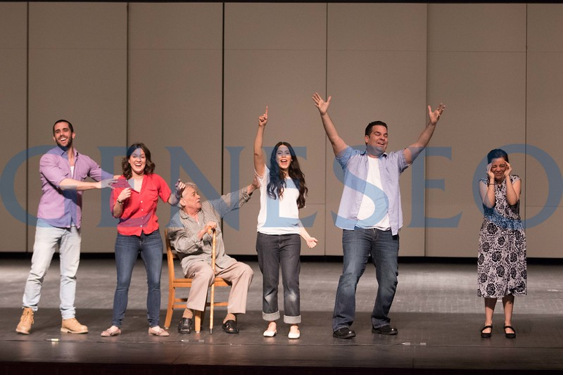 "Repertorio Español, the acclaimed off-Broadway Hispanic theater company, is bringing its production of the comedy ""La Gringa"" to SUNY Geneseo for two performance April 11 at 10 a.m. and 7 p.m. in Wadsworth Auditorium. The Obie Award-winning production about a young woman exploring her identity is the longest-running Spanish language play in off-Broadway history."