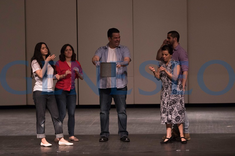 """Repertorio Español, the acclaimed off-Broadway Hispanic theater company, is bringing its production of the comedy """"La Gringa"""" to SUNY Geneseo for two performance April 11 at 10 a.m. and 7 p.m. in Wadsworth Auditorium. The Obie Award-winning production about a young woman exploring her identity is the longest-running Spanish language play in off-Broadway history."""
