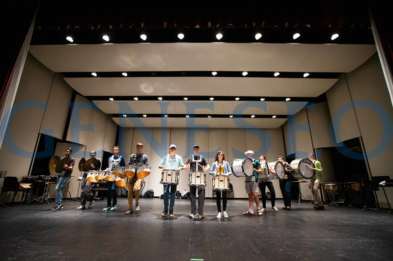 Geneseo Percussion Ensemble will perform Cirque Du Percussion 2