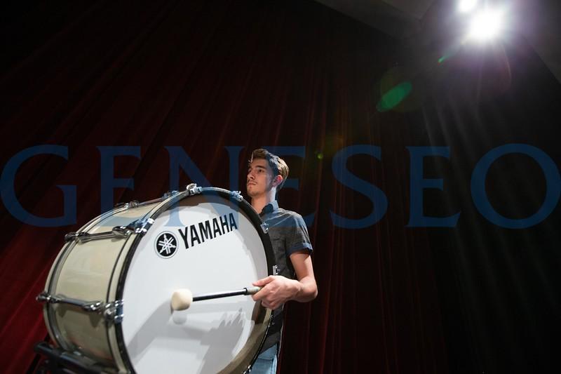 Geneseo Percussion Ensemble will perform Cirque Du Percussion 2