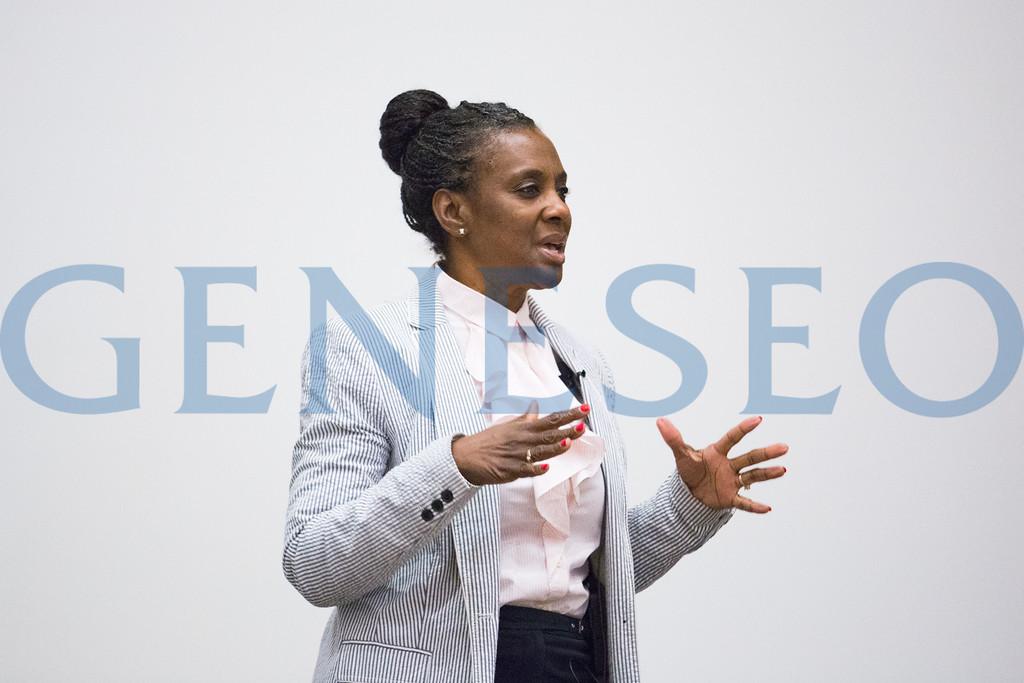 Fall 2017 Annual Leadership Symposium Keynote Speaker Andrea Mosby