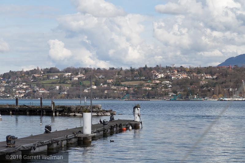 Views across Lake Geneva