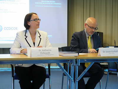 Book Presentation: Peacetime Regime for State Activities in Cyberspace, May 2014