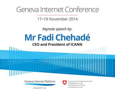 Geneva Internet Conference, Nov 2014
