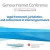 Banner Legal framework, jurisdiction, and  enforcement in Internet governance